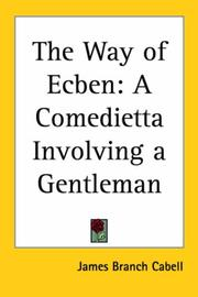 Cover of: The Way of Ecben
