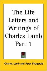 Cover of: The Life Letters And Writings Of Charles Lamb | Charles Lamb