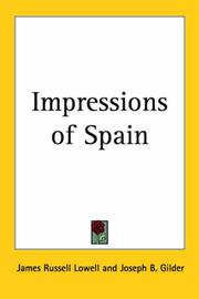 Cover of: Impressions of Spain