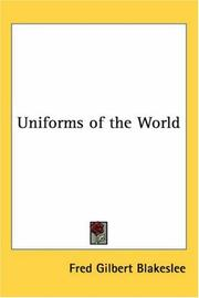 Cover of: Uniforms Of The World