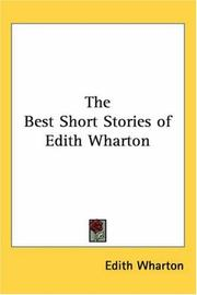 Cover of: Best short stories of Edith Wharton