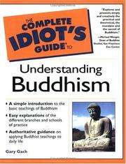 Cover of: The complete idiot's guide to understanding Buddhism