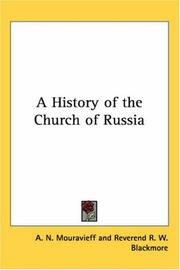 Cover of: A History of the Church of Russia