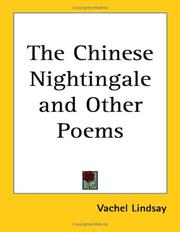 Cover of: The Chinese Nightingale and Other Poems