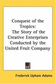 Cover of: Conquest Of The Tropics