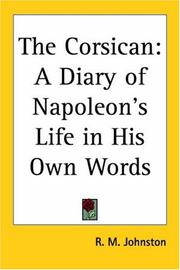 Cover of: The Corsican