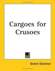 Cover of: Cargoes for Crusoes
