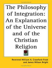 Cover of: The Philosophy Of Integration