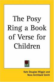 Cover of: The Posy Ring A Book Of Verse For Children |