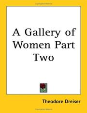 Cover of: A gallery of women