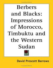 Cover of: Berbers And Blacks