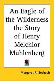 Cover of: An Eagle Of The Wilderness | Margaret R. Seebach