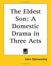 Cover of: The eldest son: a domestic drama in three acts.