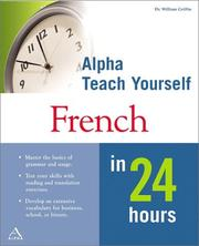 Cover of: Macmillian Teach Yourself French in 24 Hours | William Griffin