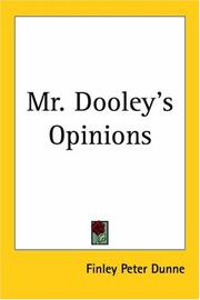 Cover of: Mr. Dooley