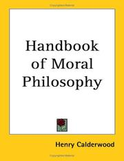 Cover of: Handbook Of Moral Philosophy