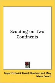 Cover of: Scouting on two continents