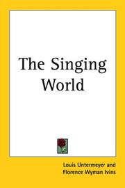 Cover of: The Singing World