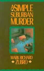 Cover of: A Simple Suburban Murder