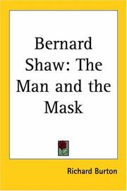 Cover of: Bernard Shaw | Richard Burton