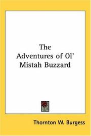 Cover of: The Adventures of Ol' Mistah Buzzard