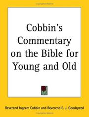 Cover of: Cobbin's Commentary on the Bible for Young And Old