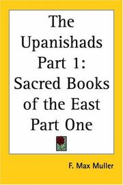 Cover of: The Upanishads Part 1