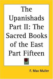 Cover of: The Upanishads Part II