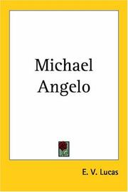 Cover of: Michael Angelo