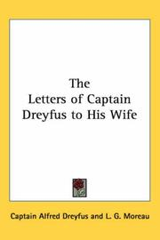 Cover of: The Letters of Captain Dreyfus to His Wife