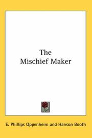 Cover of: The Mischief Maker