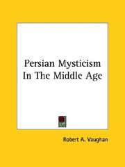 Cover of: Persian Mysticism In The Middle Age