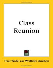 Cover of: Class Reunion