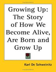 Cover of: Growing up