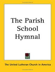 Cover of: The Parish School Hymnal