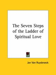 Cover of: The Seven Steps of the Ladder of Spiritual Love