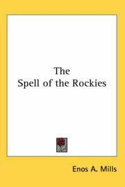 Cover of: The spell of the Rockies