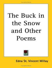 Cover of: The buck in the snow, & other poems