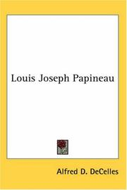 Cover of: Louis Joseph Papineau