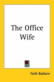 Cover of: The office wife