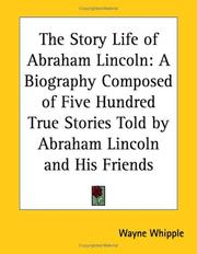Cover of: The Story Life of Abraham Lincoln
