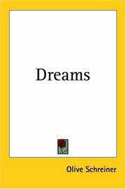 Dreams by Olive Schreiner