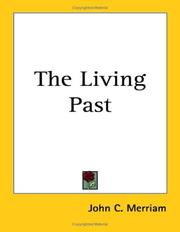 Cover of: The living past