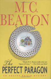 Cover of: The perfect paragon: an Agatha Raisin mystery