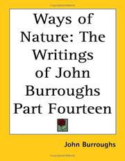 Cover of: Ways Of Nature | John Burroughs