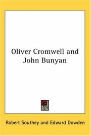 Cover of: Oliver Cromwell and John Bunyan