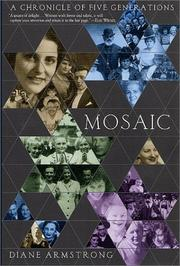 Cover of: Mosaic | Diane Armstrong