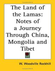 Cover of: The Land of the Lamas