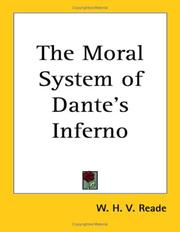 Cover of: The Moral System of Dante's Inferno