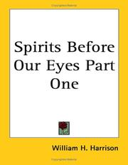 Cover of: Spirits Before Our Eyes Part One